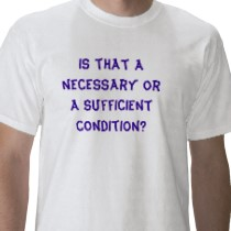 LSAT Necessary Or Sufficient Condition?